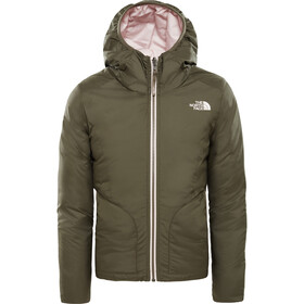 The North Face Rev Perrito Veste Fille, new taupe green